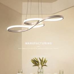 LED lustre à manger simple moderne bar lustre créatif personnalisé mode salon art chambre à coucher lampe ? partir de fabricateur
