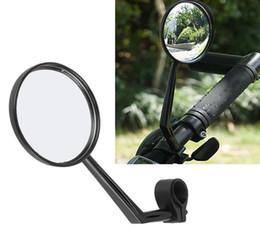 Miroir à bicyclette en Ligne-1 pc Réglable Moto Vélo Guidon Fin En Verre Flexible Grand Angle Vélo Rotatif Miroirs Rétroviseur Réfléchissant Vélo DDA260