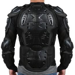Proteger el equipo online-Liplasting motocicleta de cuerpo completo armadura camisa chaqueta espalda hombro proteger engranaje S-XXXL negro rojo envío gratis