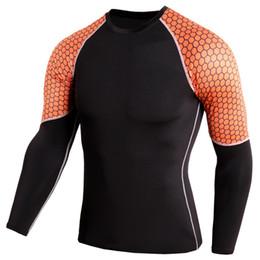 Collants de sport pour hommes PRO à manches longues, respirant, sec, fitness, running, basketball, football, exercice, chemise ? partir de fabricateur