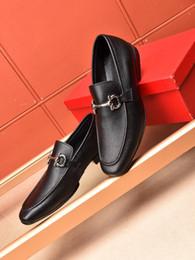 Nouveau Style Hommes En Cuir Véritable Chaussures De Luxe Classique Marque Designer Formelle Robe De Soirée Chaussures Zapatos Hombre Taille 38-44 ? partir de fabricateur