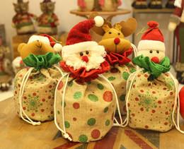 2018 последние рождественские украшения партии подарок изысканный подарок мешок Сочельник Apple мешок apple box конфеты мешок бесплатная доставка supplier apple latest от Поставщики apple latest