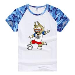 Halskette t-shirts online-WM-Liebhaber T-Shirts Mens Damen Kurzarm-Paar Shirts Lose Baumwolle Runde Halsketten für Fußballfans