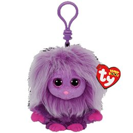 64d59a5fb36 Discount beanie boo eyes - Ty Beanie Boos Big Eyes Plush Purple Monster  Keychain Toy Doll