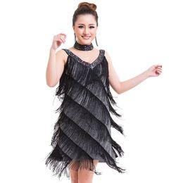 011aec02f Distribuidores de descuento Vestido De Aleta Gatsby Negro