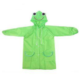 Wholesale Children Rain Coat Cartoon Animal - rain coat cover kids rain running Rainwear Christmas gift Cartoon animal shaped children's poncho children coat poncho