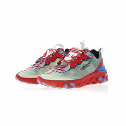Wholesale designer summer boots - Upcoming React Element 87 X UNDERCOVER New Mens Designer Running Shoes for Men Casual Trainers Women Sports Sneakers