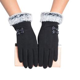 Deutschland 1 Paar Winter Warme Touchscreen Handschuhe Stilvolle Handwärmer Winter Handschuhe Frauen Faux Wolle Handschuh Warme Vollfinger Guantes Mujer # L5 supplier stylish gloves Versorgung