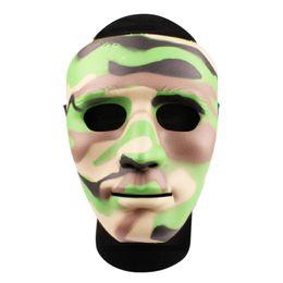 Máscara humana completa online-Envío gratis 5 colores WST máscara humana completa para Wargame Cosplay Halloween realista máscaras de nylon para mujeres hombres adolescente