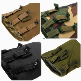 Wholesale Outdoor Tactical Vest - New outdoor recycling bags outdoor camouflage bag tactical vest accessory recycling bag Sports hunting and fishing gear supplies
