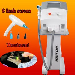 Wholesale marketing sale - Best price nd yag laser tattoo removal birthmark removal freckle tattoo removal machine hot sale in market