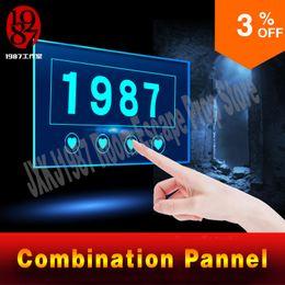 цифровая доска реальная жизнь побег номер игра проп сочетание кнопок панели для побега таинственный номер приключенческая игра реквизит jxkj1987 от Поставщики выключатель двери автомобиля