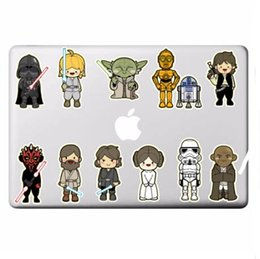 Wholesale Character Notebook - Classic Characters Laptop Stickers for DIY Partial Decal Air Pro Retina Mac Notebook Skin Sticker free shipping 2018 new high quality hot
