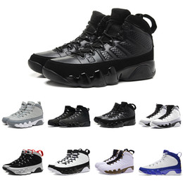 Wholesale Hot Johnny - Hot 2018 Retros 9 men basketball shoes OG Space Jam Tour Yellow PE Anthracite The Spirit Johnny Kilroy 2010 release sports shoes sneaker
