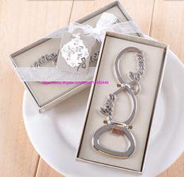 carta de regalo botella Rebajas 50 unids plata para siempre carta de amor abrebotellas abrelatas favores y regalos del banquete de boda recuerdos regalo para invitados envío gratis