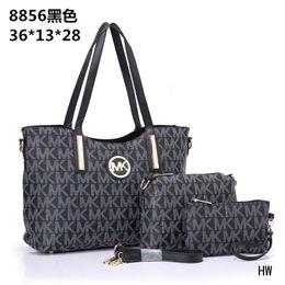 Famous Brand Women Bags PU Leather Handbags Famous Designer Brand Bags Purse Shoulder Tote Bag Wallet 8854 mk