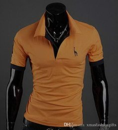Wholesale male shirt styles - New 2018 Street Style Summer T-shirt Men T Shirts Male Fashion P Short Sleeves Designer Top Tee Hommes Hip-hop for sale