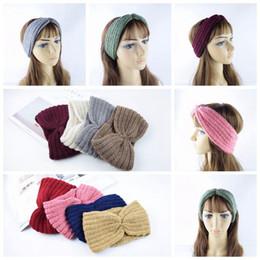 Femmes Turban Tricoté Headwrap Cheveux Hiver Oreille Réchauffeur Bandeau Crochet Câble Bandeau Moufles ? partir de fabricateur