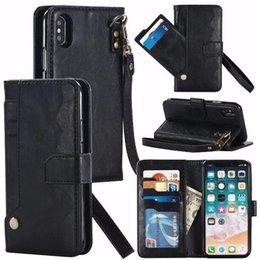 кожаный чехол Скидка Съемный магнитный Snap - on кожаный бумажник Case роскошные задняя крышка чехол с слот для карт памяти case для iphone X 8G 7G 6G 6S PLUS