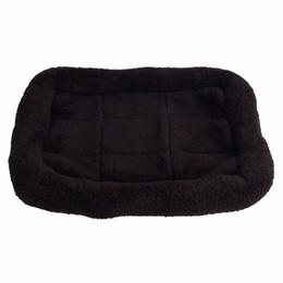 2019 cuscini cucciolo Nero confortevole cane da compagnia letto sonno caldo Teddy Cat Puppy divano casa stuoia per i cani Cuscino coperta forniture cucciolo