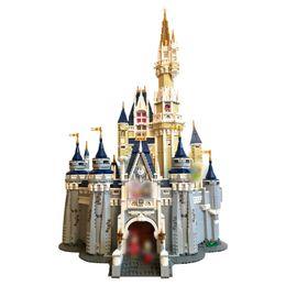 Wholesale building blocks castle - The Cinderella Princess Castle City Compatible Blocks Brick 4160pcs Model Building DIY Educational Block Kid Toy Birthday Gift