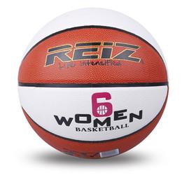 Reiz 901 Outdoor Basketball Pu Leder rutschfest verschleißfesten Ball Basquete mit kostenlosen Geschenk Net Nadel ideal für Kinder und Erwachsene zu spielen von Fabrikanten