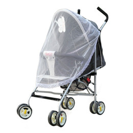 Wholesale Net Factory - Happy Sales Factory Price Universal Lace Safe Baby Carriage Insect Mosquito Net or Baby Stroller Cradle Bed Net Aug25