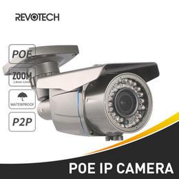 Wholesale Ip Camera Onvif Poe Outdoor - POE Waterproof Outdoor 720P   1080P 42 LED 2.8-12mm Zoom IP Camera 1.0MP   2.0MP Security Camera ONVIF Night Vision P2P CCTV