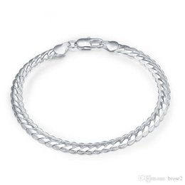 Wholesale jewelry silver japan - Manufacturers supply copper and silver jewelry DIY jewelry Japan and South Korea best selling jewelry fashion boutique 5M sideways bracelets