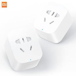 ccesorios Piezas Enchufes eléctricos Adaptadores Xiaomi Mijia Smart Socket Plug WiFi Versión inalámbrico remoto Adaptador de zócalo Encendido y apagado w ... desde fabricantes