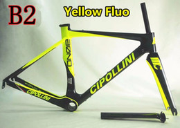 Wholesale Carbon Bike Frame Cipollini - Full carbon fiber Cipollini BOND carbon road frames with BB386 3K UD Matte Glossy for selection free shipping