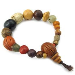 Wholesale Tibetan Buddhist Mala - Men's Ladies Bracelet, Tibetan Buddhist Beads Prayer Mala, wood