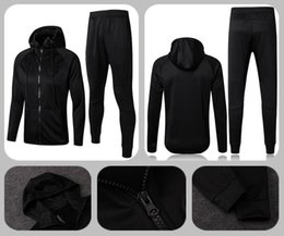 Wholesale Tight Black Clothes - 17 18 +aaa Survetement HAZARD tracksuit MORATA training jacket BATSHUAYI tracksuits tight pants 17 18 men clothing RUDIGER Training suit