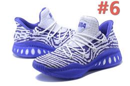 quality design 7f9dd 3bf12 Avec la boîte de nouvelles chaussures de basket-ball Crazy Explosive faible Hommes  Rouge Blanc Noir Andrew Wiggins Crazy Explosive Jeunes B Sport Sneakers