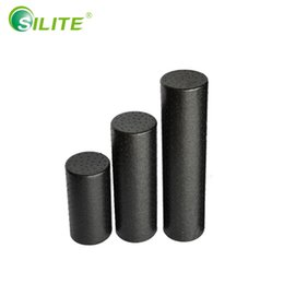 Wholesale Yoga Foam Rollers - SILITE High Density EPP Foam Roller for Muscle Relaxation and Physical Therapy, Black, 30cm 45cm 60cm Yoga Bock Massage Roller