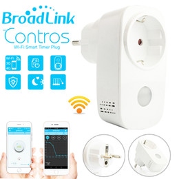 Wholesale video camera ipad - Smart home Broadlink 16A+timer EU US wifi power socket plug outlet,APP Wireless Controls for ios iphone ipad Android,domotica