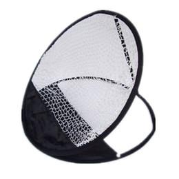 redes de prática de golfe Desconto Pop Up Designer de golfe portátil Chipping Pitching Prática Net Malha Mini Dobrável Treinamento Ferramenta de Ajuda Para Acessórios de Esportes Ao Ar Livre 22ms ZZ