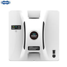 HOBOT Window Aspirapolvere Lavavetri Robot ad alta aspirazione Anti-Falling Telecomando Wet Dry Wiping Washer Robot Sweeper TB da spazzole di pulizia dei tipi fornitori