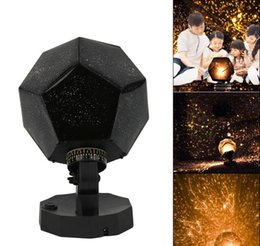 Wholesale Christmas Projection Lamp - Star Sky Projection Lamp Projector Night Light Celestial Star Astro Sky Projection Romantic Bedroom Decoration Lighting Gadget