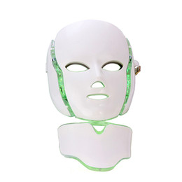 Canada La lumière infrarouge de couleur de la machine 7 de maison de PDT d'utilisation ride la lumière enlèvent le rajeunissement de peau de traitement d'acné LED photon masque facial Offre