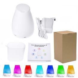 100 мл 7 Цвет эфирное масло диффузор портативный аромат увлажнитель воздуха диффузор LED Ночной свет ультразвуковой прохладный туман свежий воздух ароматерапия от
