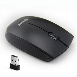 Wholesale Good Pc Laptops - Good sale mosunx 2.4GHz Mini High Speed 1500D Wireless Optical Mouse For PC Laptop Black