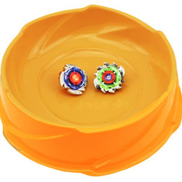Batallas de beyblade online-15 PC Niños Juguetes Combat Stadium Estadio de batalla de estallido de plástico Battlefiled Estadio Beyblade Beyblade Arena Battle Top Plate