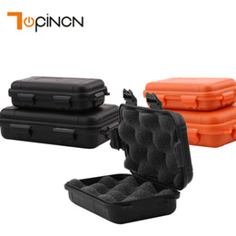 Wholesale Case For Matches - Outdoor Shockproof Waterproof Storage Boxes Survival Airtight Case Holder For Storage Matches Tools Travel Sealed Containers