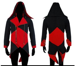 Wholesale Latex Clothes Xxl - boys kids Halloween costumes for women Assurance 3 New Kenway Men's jacket anime cosplay clothes assassins creed costumes for boys k...