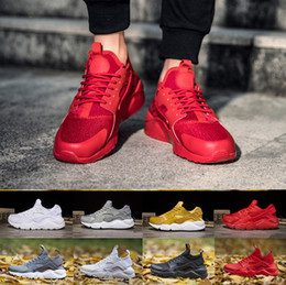 Wholesale Element Shoes - customer review Huarache 4.0 1.0 shoes trainers, Air Huarache 4 IV Ultra boosts Mens Women's Sneakers runnning sport trainer fashion element