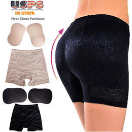 Wholesale Panty Pads - FLORATA Sexy Women Butt Booster Seamless Padded Enhancer Booty Panty Underwear Shaper