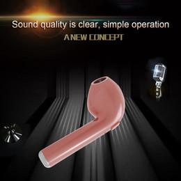 2018 наушники с одним ухом 2018 Новый популярный Fengdong Chip Premium Quality HBQ I7 Single Earpiece Earbuds Беспроводная Bluetooth-гарнитура в наушниках для наушников в ушах дешево наушники с одним ухом