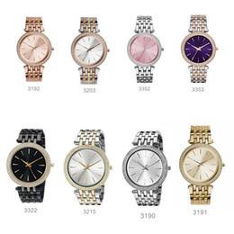 mulheres usando relógios Desconto Moda personalizado relógio do desgaste das mulheres 3190 3191 3192 3203 3215 3322 3352 3353 + caixa Original + Atacado e Varejo + Frete Grátis