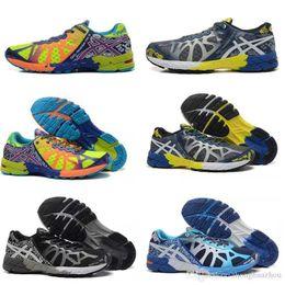 Wholesale Gel Noosa Tri Shoes - Gel Noosa TRI 9 IX Running Shoes For Men Women High Training 2016 New Lightweight Walking Sport Shoes Size 36-45 Free Shipping